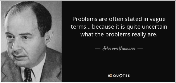 Problem of Neumann sales