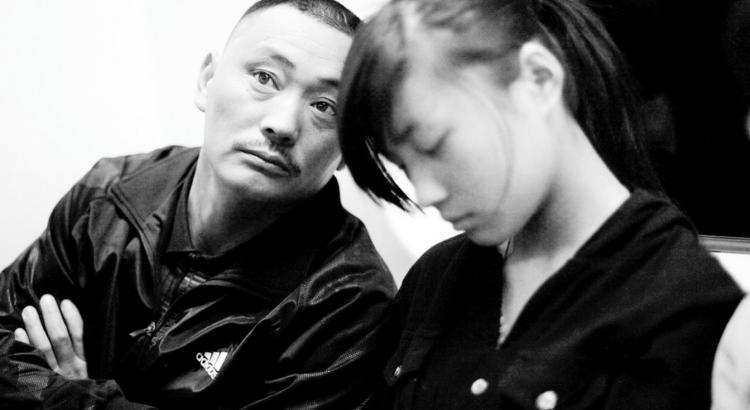 Man in Beijing Subway